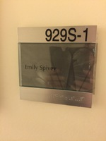 Emily Spivey office door 30 Rock