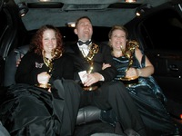 Limo after Emmy ceremony 2002